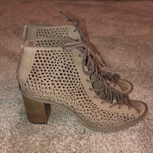 Vince Camuto Lace Up Heels